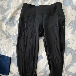 Lulu lemon cropped leggings